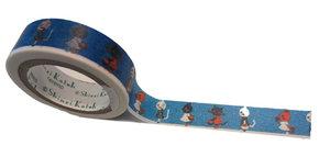 Masking tape Shinzi Katoh - Fashion Cats