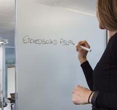 Aslan schrijfbaar raamfolie EBL300 (47cm breed)