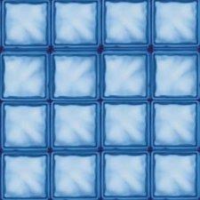 Raamfolie glasblokken blauw