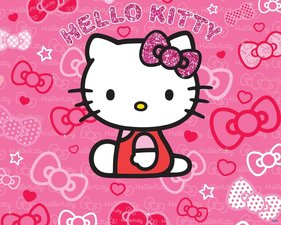Posterbehang Walltastic Hello Kitty