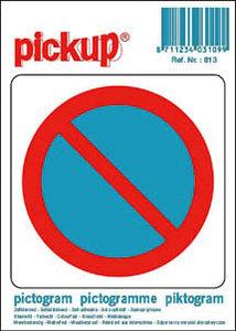 Pictogram sticker Verboden te parkeren