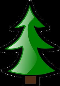 Kerst sticker - Kerstboom