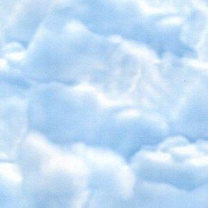plakfolie wolken blauwe lucht