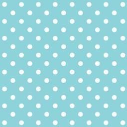 Plakfolie blauw met stipje (45cm)