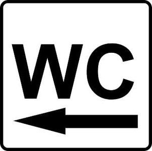 Sticker WC links