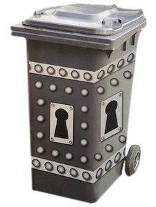 containerstickers sleutelgat