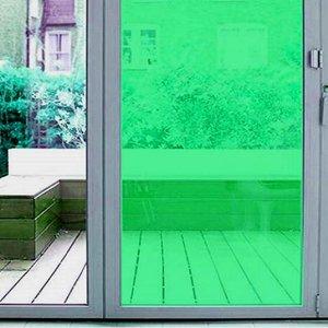 raamfolie gekleurd groen