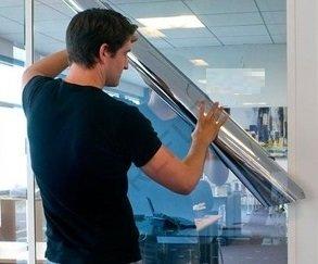 Veiligheidsfolie/spiegelfolie one way (90cm)