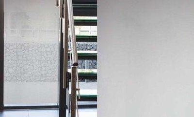 zonwerend raamfolie statisch lichtgrijs 90cm