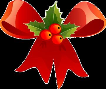 Kerst sticker - Kerststrik