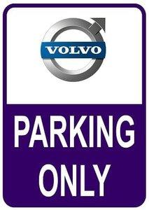 Sticker parking only Volvo