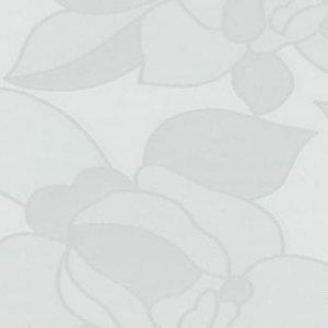 Breed raamfolie rozen transparant 90cm