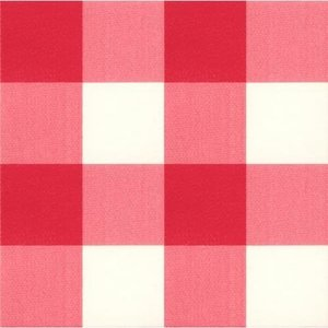 Coupon plakfolie grote ruit rood (3134) 850x45