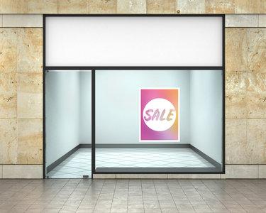 Etalage raamsticker Summer sale